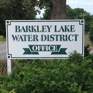 Barkley Lake Water District Office sign